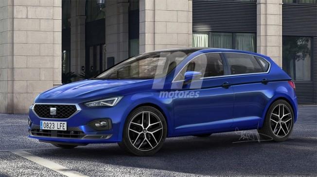 SEAT León 2020 - Recreación