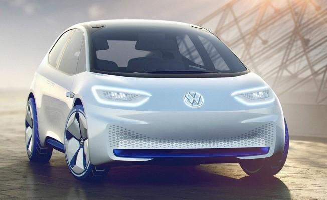 Volkswagen I.D. Concept - frontal