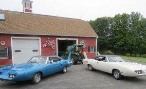 Descubiertos 2 Plymouth Superbird tras 35 años sin salir del garaje