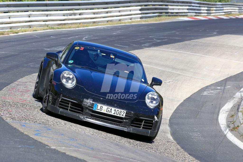 El nuevo Porsche 911 GT3 2020 ya se enfrenta a Nürburgring