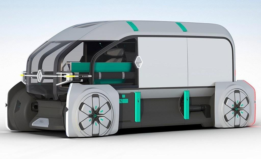 Renault EZ-PRO Concept, autónomo, eléctrico y conectado
