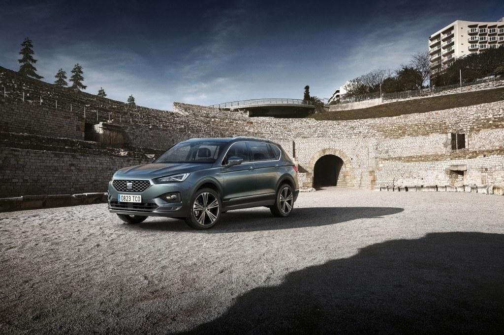 El nuevo SEAT Tarraco, un SUV español de 7 plazas, se presenta en sociedad