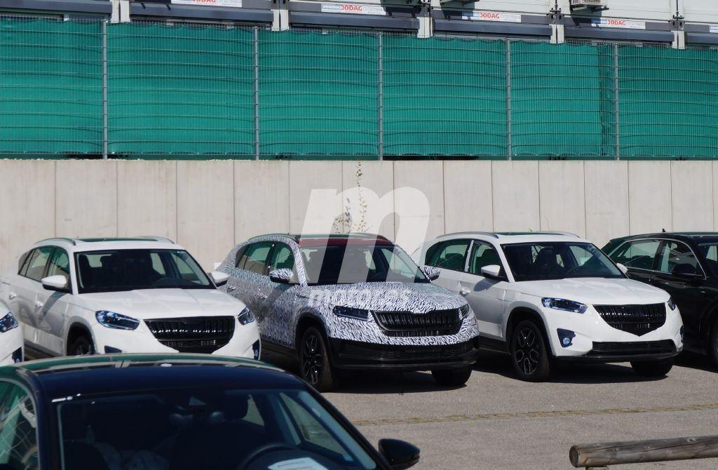 Skoda Kodiaq GT: primeras fotos espía del nuevo modelo de la marca checa en Europa