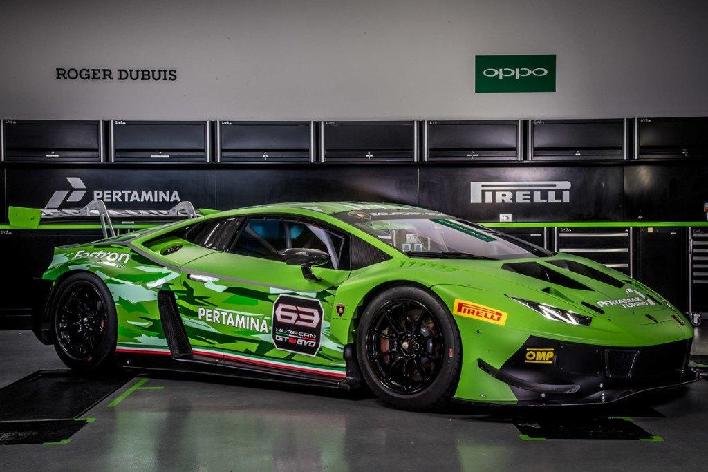Se presenta el Lamborghini Huracán GT3 EVO 2019