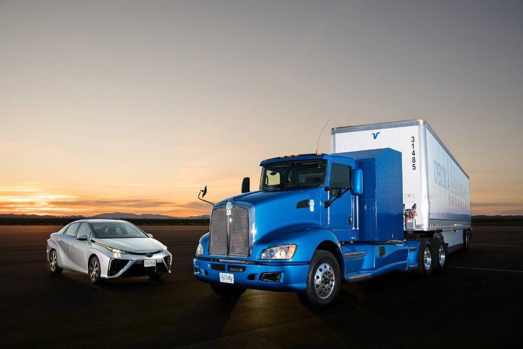 Toyota y Kenworth van a fabricar camiones movidos por hidrógeno