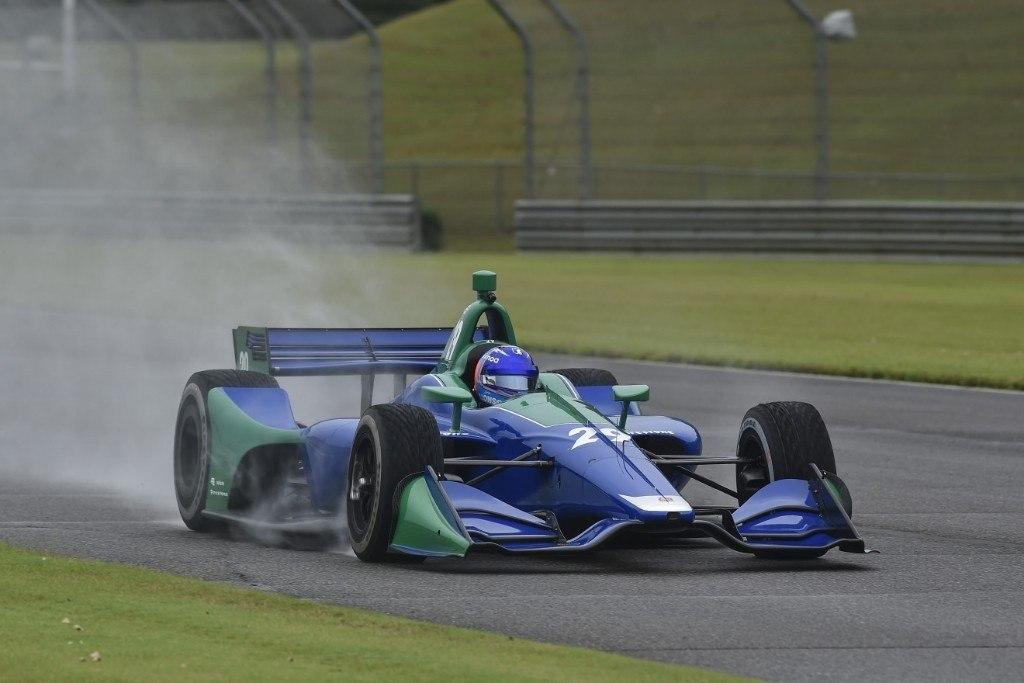 [Vídeo/Galería] Así fue el test de Alonso con un IndyCar en Barber
