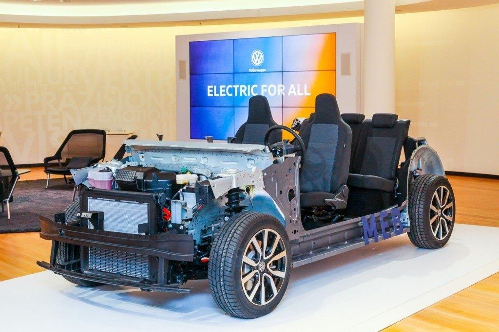 Volkswagen desvela la nueva plataforma MEB para sus modelos eléctricos