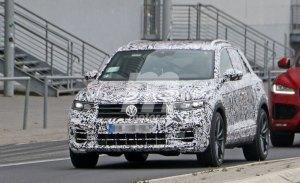 El nuevo Volkswagen T-Roc R inicia sus pruebas dinámicas en el circuito de Nürburgring