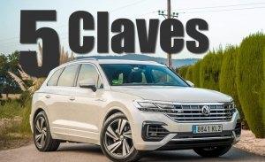 Volkswagen Touareg 2018, sus cinco claves analizadas en vídeo