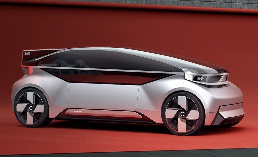 Volvo 360c, una mirada al futuro de la movilidad personal