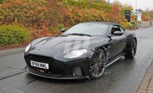 El nuevo Aston Martin DBS Superleggera Volante cazado sin camuflaje