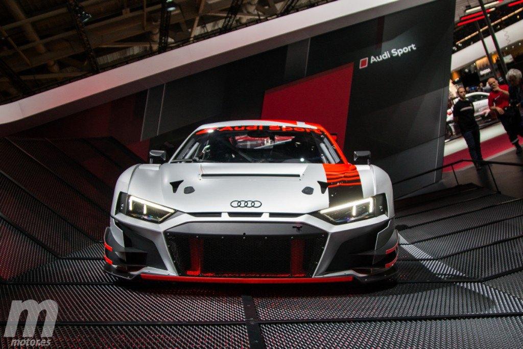 Audi R8 LMS GT3 2019: debut por todo lo alto en París
