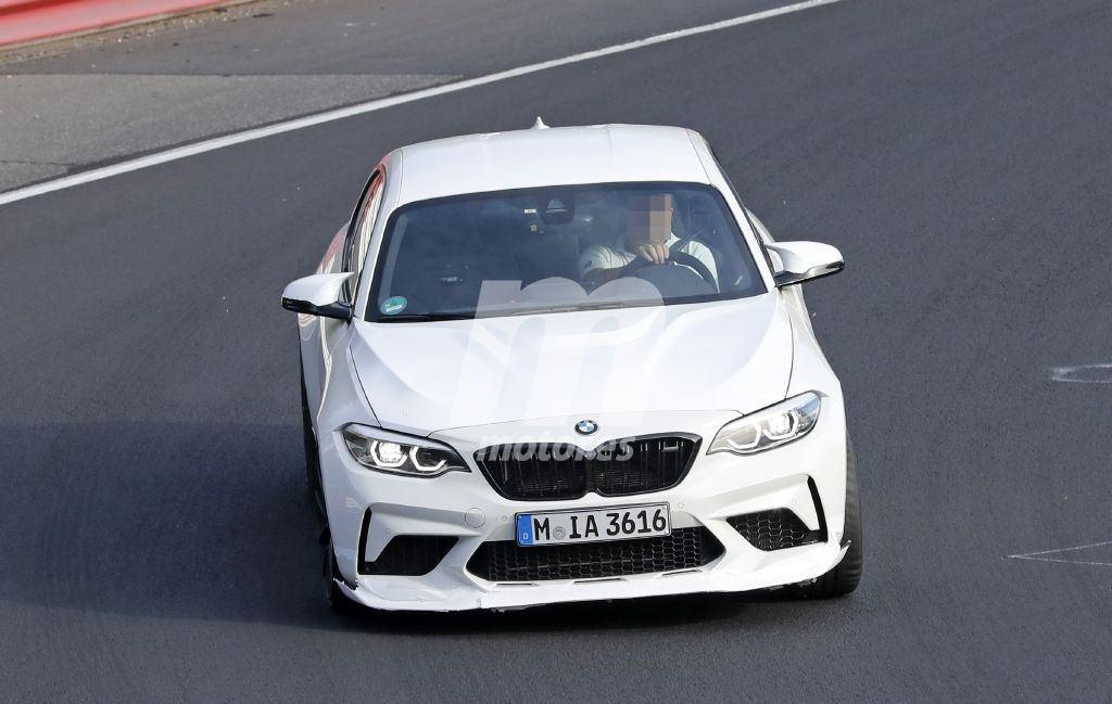 Las primeras pruebas del futuro BMW M2 CSL comienzan en Nürburgring