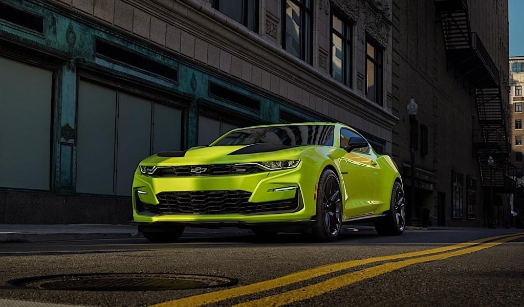 El Chevrolet Camaro SS 2019 estrena nuevo frontal en el SEMA
