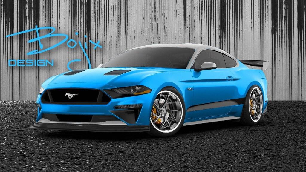 Ford adelanta los Mustang preparados para el SEMA 2018