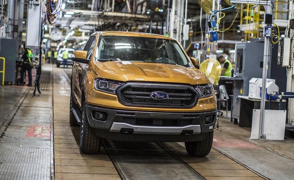 El nuevo Ford Ranger 2019 ya está siendo producido en Míchigan