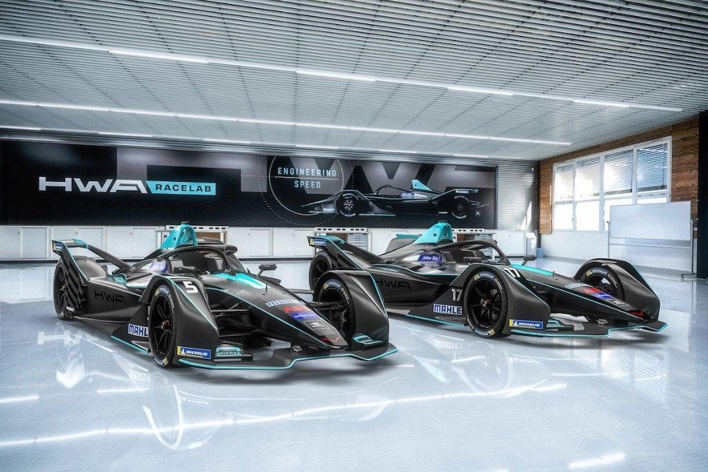 HWA presenta su proyecto en Fórmula E con Gary Paffett