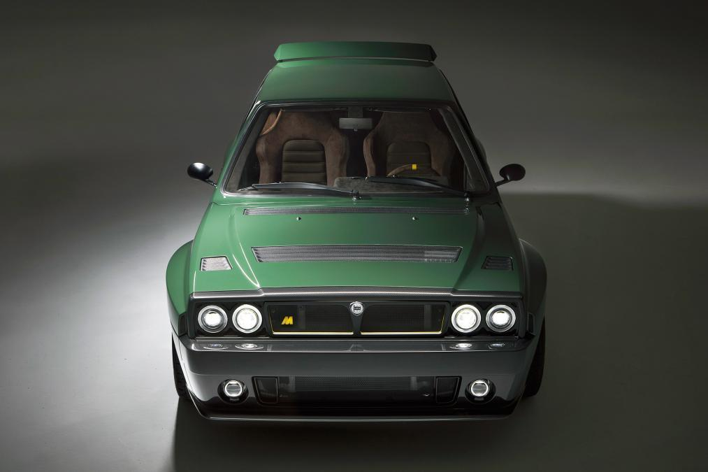 El Lancia Delta Futurista al detalle con Miki Biasion al volante [vídeo]