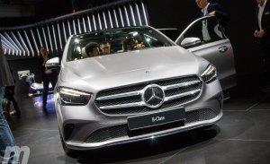 Mercedes desvela la tercera generación del Clase B 2019 en el Salón de París