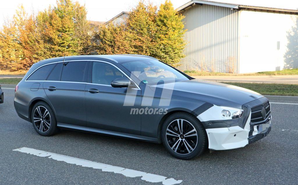 Mercedes Clase E 2020: primeras imágenes de la actualización del familiar