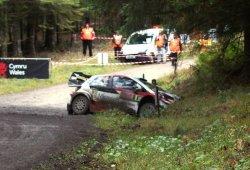Accidentado shakedown para Ott Tänak en el Rally de Gales
