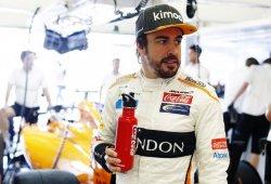 """Alonso, contento a pesar de su vuelta: """"No ha salido buena, pero gran resultado"""""""