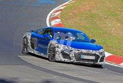 El renovado Audi R8 2019 ya se enfrenta a Nürburgring