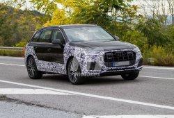 El nuevo Audi SQ7 2019 se deja ver con unos faros láser