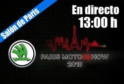 En directo: Skoda avanza sus novedades para el Salón de París 2018