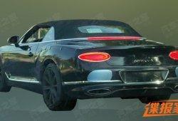 El nuevo Bentley Continental GTC al desnudo por primera vez