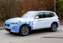 El nuevo BMW iX3 eléctrico cazado en la calle