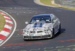 La nueva generación del BMW M3 G80 llega a Nürburgring con menos camuflaje