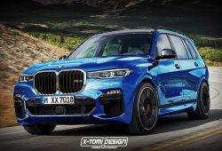 BMW X7 M, vislumbrando la versión deportiva del mastodóntico SUV