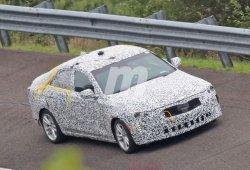 El nuevo Cadillac CT4 cazado en el circuito de General Motors