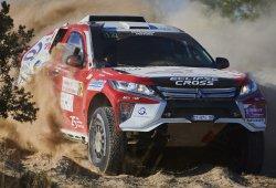 Dakar 2019: Cristina Gutiérrez estrena un nuevo Mitsubishi
