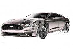¿Un Ford Mustang de 4 puertas para competir con el Porsche Panamera?