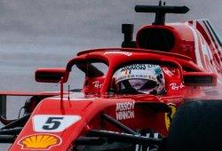 Vettel se resarce con el mejor tiempo antes de la clasificación