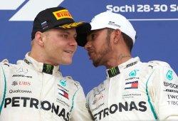 Hamilton y Bottas reclaman más de una parada y neumáticos anti-blistering