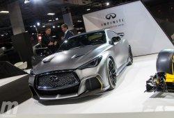 Infiniti Project Black S 2018, híbrido y sin perder de vista a la Fórmula 1