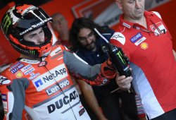Jorge Lorenzo se prueba, pero tampoco competirá en Motegi