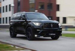 Larte Design convierte al Infiniti QX80 en un SUV más siniestro