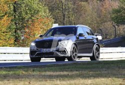 El Mercedes-AMG GLC 63 comienza sus pruebas en el trazado de Nürburgring