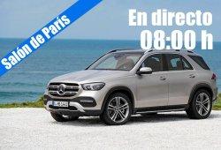 En directo: las novedades de Mercedes desde París 2018