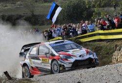 Tänak se escapa, Sordo ya es segundo en el Rally RACC