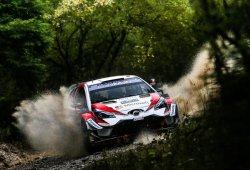 Ott Tänak no baja el ritmo al frente del Rally de Gales