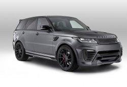 Overfinch otorga al Range Rover Sport de una nueva y radical imagen