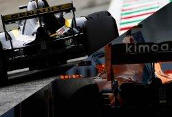 Renault y McLaren ruedan tras recibir sus aceites y romper el toque de queda