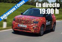 Sigue en directo la presentación del nuevo Volkswagen T-Cross