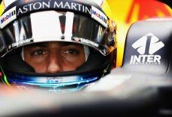 Red Bull explica la avería de Ricciardo y niega que provocara su mala salida