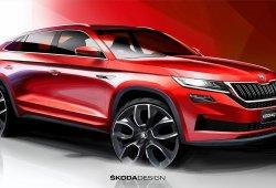 Skoda adelanta el nuevo Kodiaq GT, un SUV Coupé para China